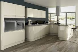 opal gloss stone kitchen units for modern kitchen with the white