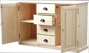 meuble de cuisine en bois meuble cuisine en bois brut trendy facade meuble cuisine bois brut