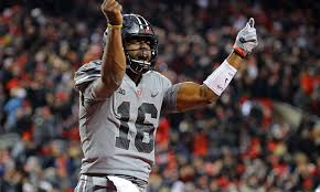 j t see all 3 of j t barrett s 4th quarter td passes from ohio state s