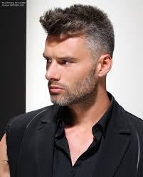 salt pepper hair styles practical short clipped men s hair with a salt and pepper color