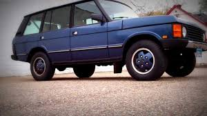 range rover modified 1993 range rover modified with diesel mercedes engine youtube