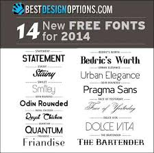 new fonts to spruce up your creative projects and designs