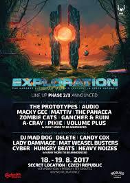jsouv druhá fáze lineupu je venku exploration festival open air