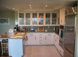 Frosted Glass For Kitchen Cabinet Doors Kitchen Cabinet Door With Glass Yeo Lab Co