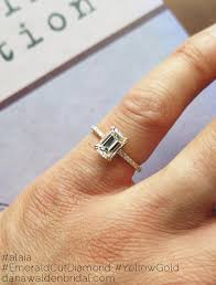 emerald cut engagement rings alaia emerald cut engagement ring with delicate micro pavé