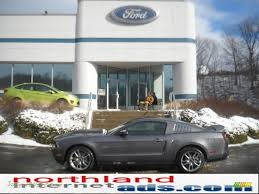 2011 Black Mustang Gt 2011 Ford Mustang Gt Premium Coupe In Sterling Gray Metallic