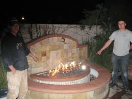 Little Red Fire Pit - ice fire glass fireglass ice and fire glass fire pit design
