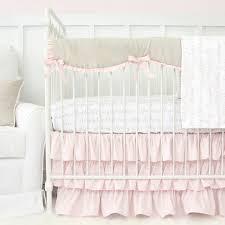 Baby Bedding Love Letters Blush Baby Bedding Swatch Kit Caden Lane