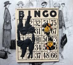 vintage halloween four vintage bingo cards antique numbers