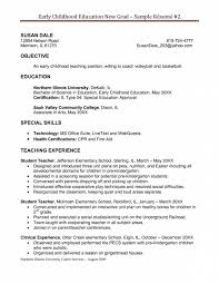 awesome collection of cover letter special education aide with