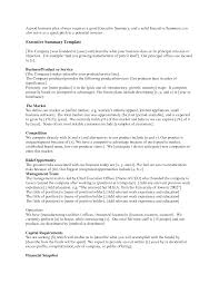 Resume Executive Summary Examples Executive Summary For A Research Paper Sample