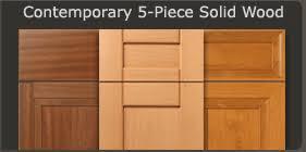 Solid Oak Cabinet Doors Contemporary Slab Cabinet Doors Walzcraft
