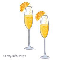 mixed drink clipart mimosa clip art champagne clip art watercolor clip art