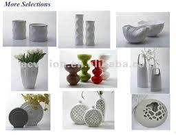 Wholesale Flower Vase Hotsale New Design White Ceramic Flower Pot Mini White Flower Pot
