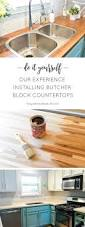 best 25 countertop installation ideas on pinterest diy butcher