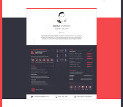Best Resume Design Templates by Free Beautiful Sketch Resume Cv Design Template Good Resume