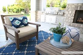 Pottery Barn Patio Table Outdoor Entertaining Area The Side Up