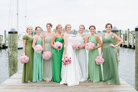 and green wedding dresses assorted green bridesmaid dress must for your wedding