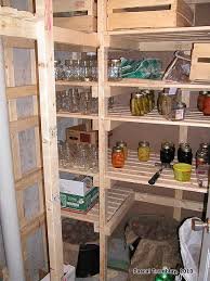Basement Storage Shelves Woodworking Plans by Walk In Cold Storage Room In Your Basement Diy Root Cellar