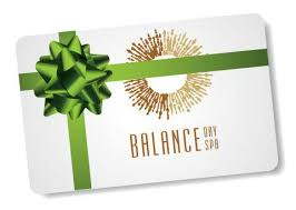 spa gift cards gift card emailed balance day spa