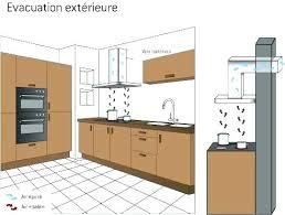 evacuation hotte cuisine hotte a evacuation hotte cuisine sans evacuation de hottes