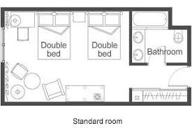 Typical Hotel Room Floor Plan Disneyland Paris Resort Hotels
