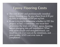 epoxy flooring cost calculator
