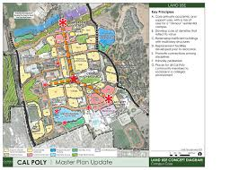 Cal Poly Campus Map Cal Poly Releases Conceptual Maps And Enrollment Growth