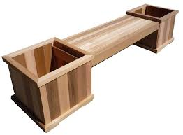 Wooden Deck Bench Plans Free by Planter Boxes Google Search Planter Boxes Pinterest