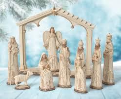 woodland nature nativity set 9 pieces christianbook