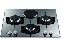 plaque cuisine gaz plaque cuisson gaz et electrique plaque mixte hotpoint ariston