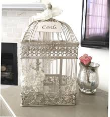 wedding gift or money birdcage card holder money box wedding birdcage card