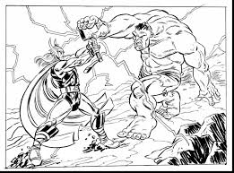coloring pages avengers extraordinary avenger thor cartoon drawing with thor coloring