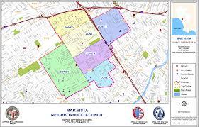 Culver City Map Area Boundaries And Map Mar Vista Community Council