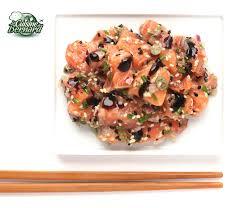 la cuisine aux images la cuisine de bernard tartare de saumon aux câpres et oignons rouges