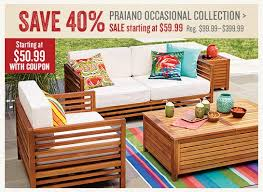 Cost Plus Outdoor Furniture Cost Plus World Market Urgent Save 40 On Praiano Outdoor 30