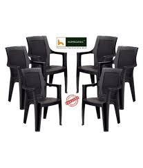 nilkamal kitchen furniture nilkamal mystique chair grey set of 6 by homegenic buy