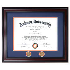 auburn diploma frame auburn diploma frame in walnut or mahogany and easy