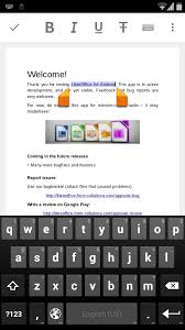 android text editor libreoffice for android prototype editor preview collabora