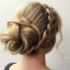 Elegant Chignon Hairstyle by Gopro How To Video Lala U0027s Updos U0027 Braided Flower Updo Career