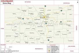 map us states colorado colorado state map