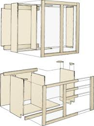 make your own cabinets wooden kitchen cabinets building plans diy blueprints kitchen