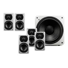 Acoustic Sound Design Home Speaker Experts Prime Satellite 5 1 Surround Sound System Home Theater Speakers