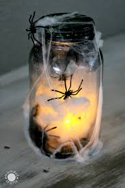 Mason Jar Halloween Captured Butterfly Mason Jar Momdot