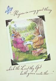 susan wheeler cards susan wheeler pond hill bunny rabbits friend card ebay