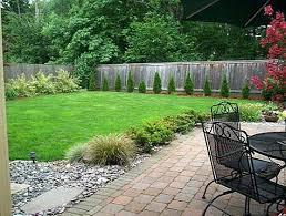 Basic Garden Ideas Simple Back Yard Ideas Katakori Info