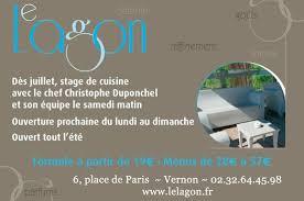 cours de cuisine 64 cours de cuisine au lagon photo de le lagon vernon tripadvisor