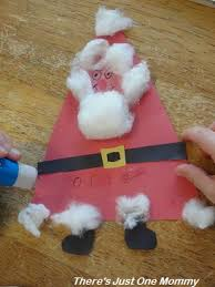Preschool Holiday Crafts - trio of triangle christmas crafts there u0027s just one mommy