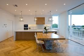 Contemporary Kitchen Pendant Lighting by Square Pendant Light Kitchen Modern With Bar Sink Beige Countertop