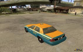 ford crown victoria taxi cab 2003 for gta san andreas